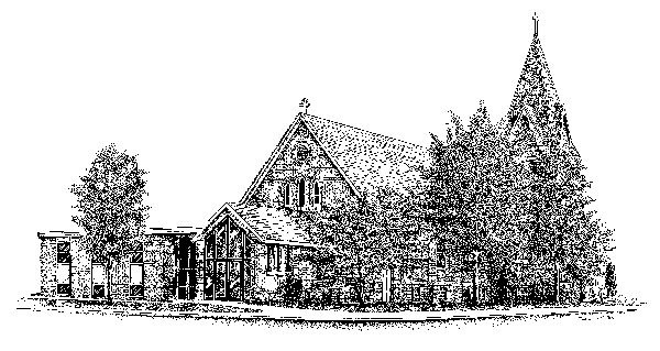 Christ Lutheran Church drawing